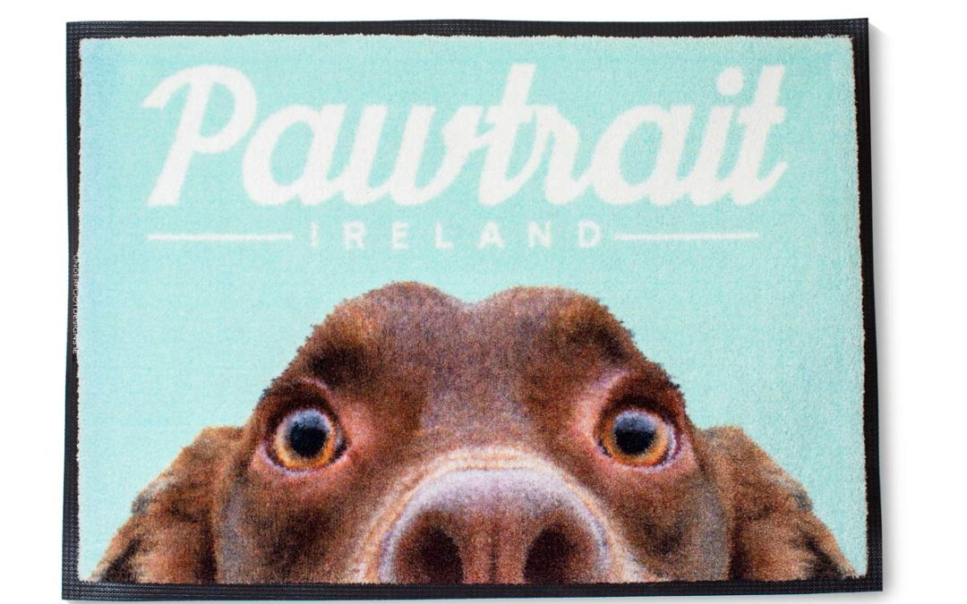 Introducing Underfoot Designs personalised pet mats!